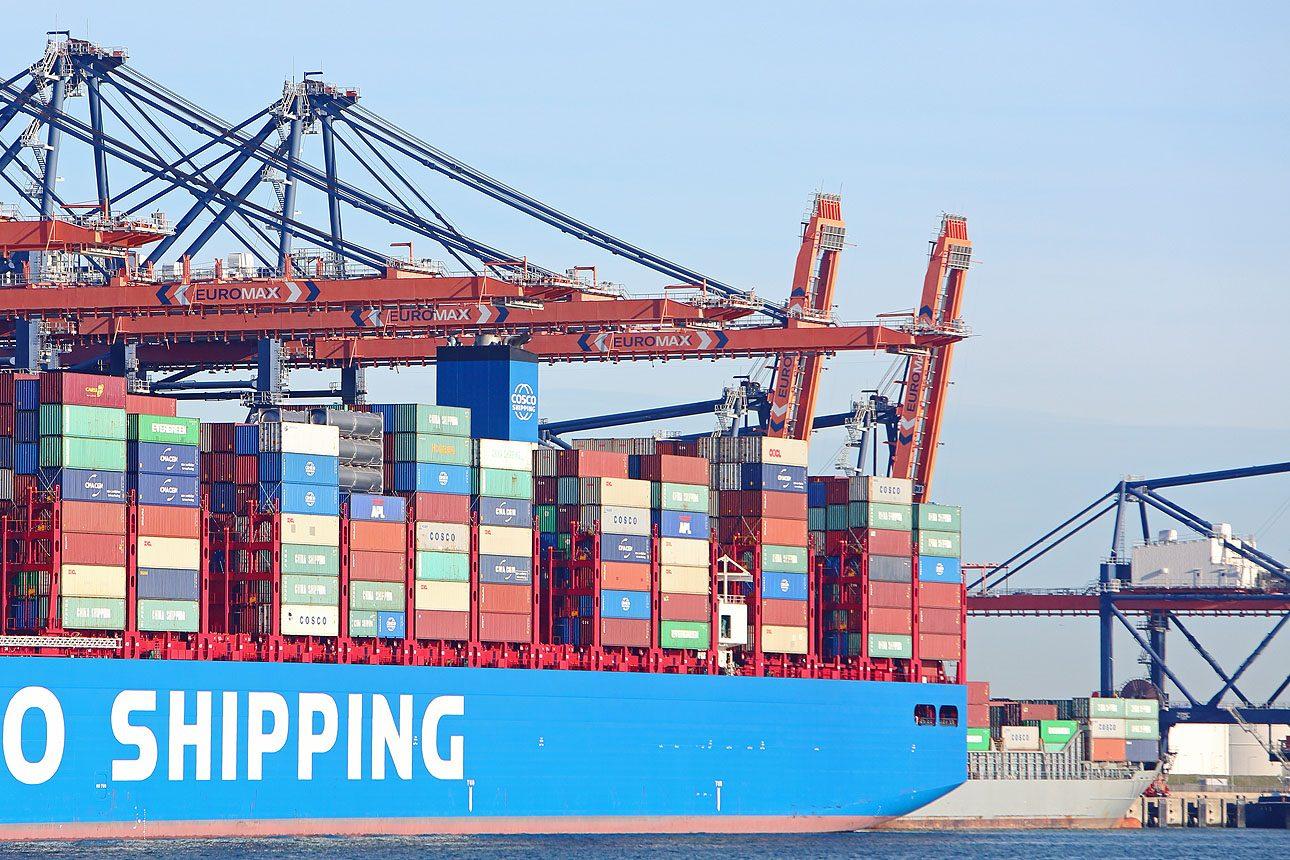 containerschip Rotterdam haven