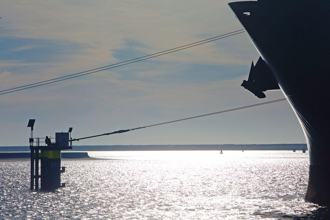 Foto's van de haven van Rotterdam