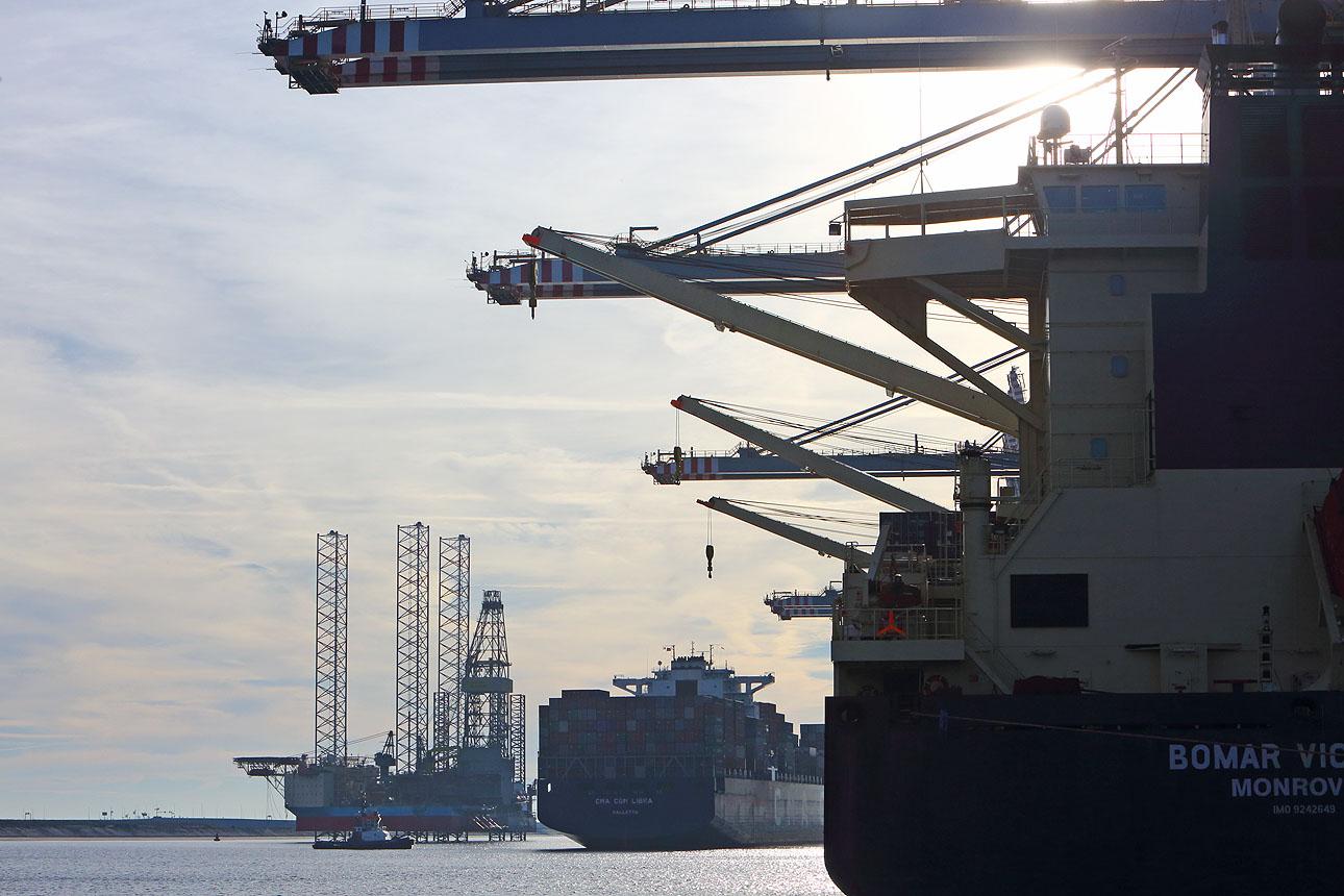 foto haven Rotterdam Maasvlakte-61