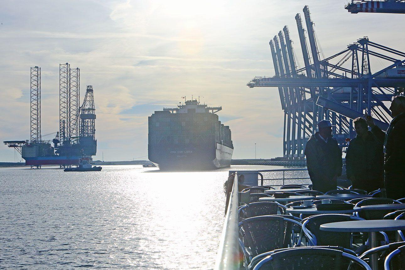 Rotterdam haven Maasvlakte foto's