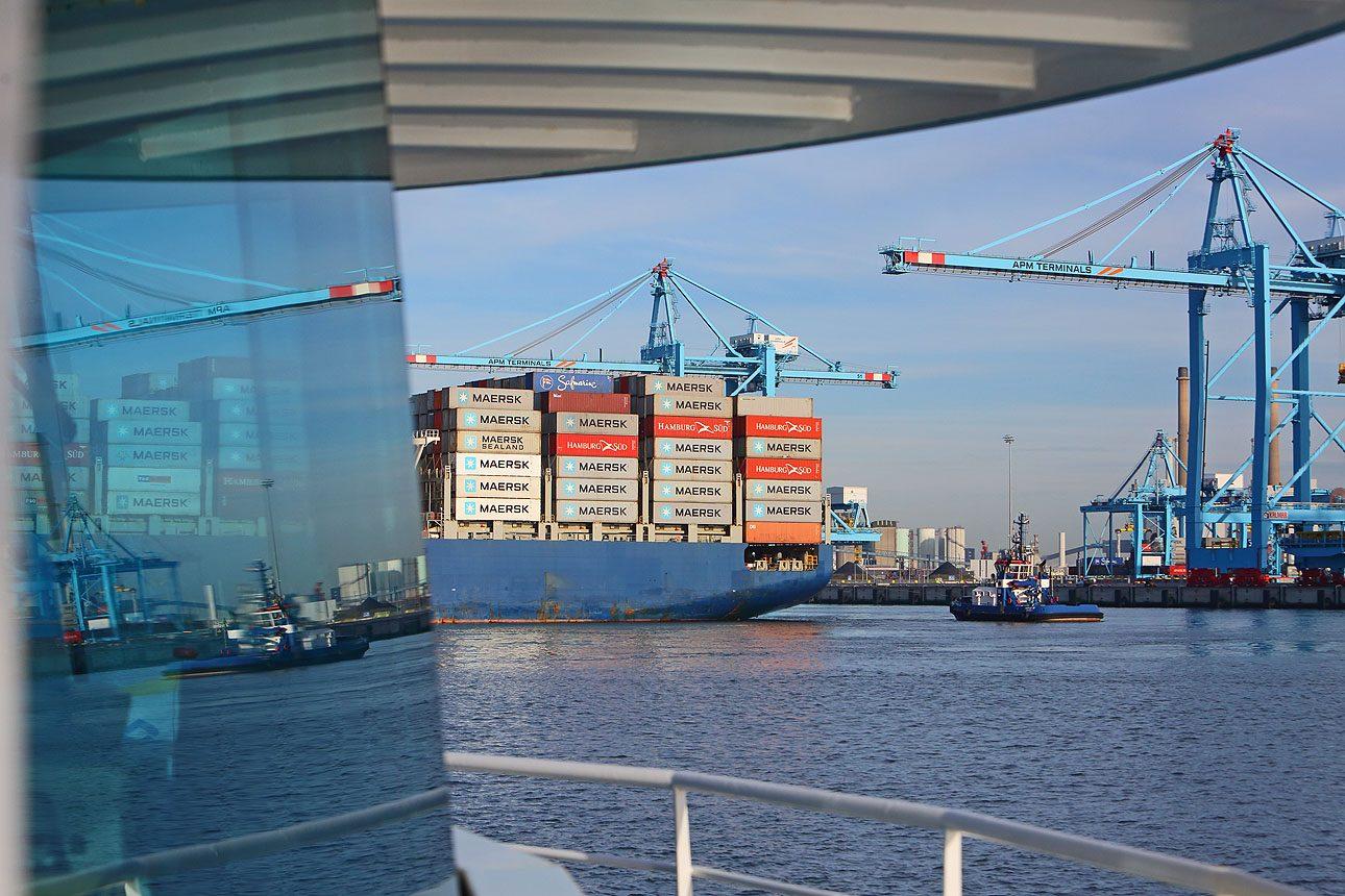 Fotografie haven Rotterdam, Maasvlakte