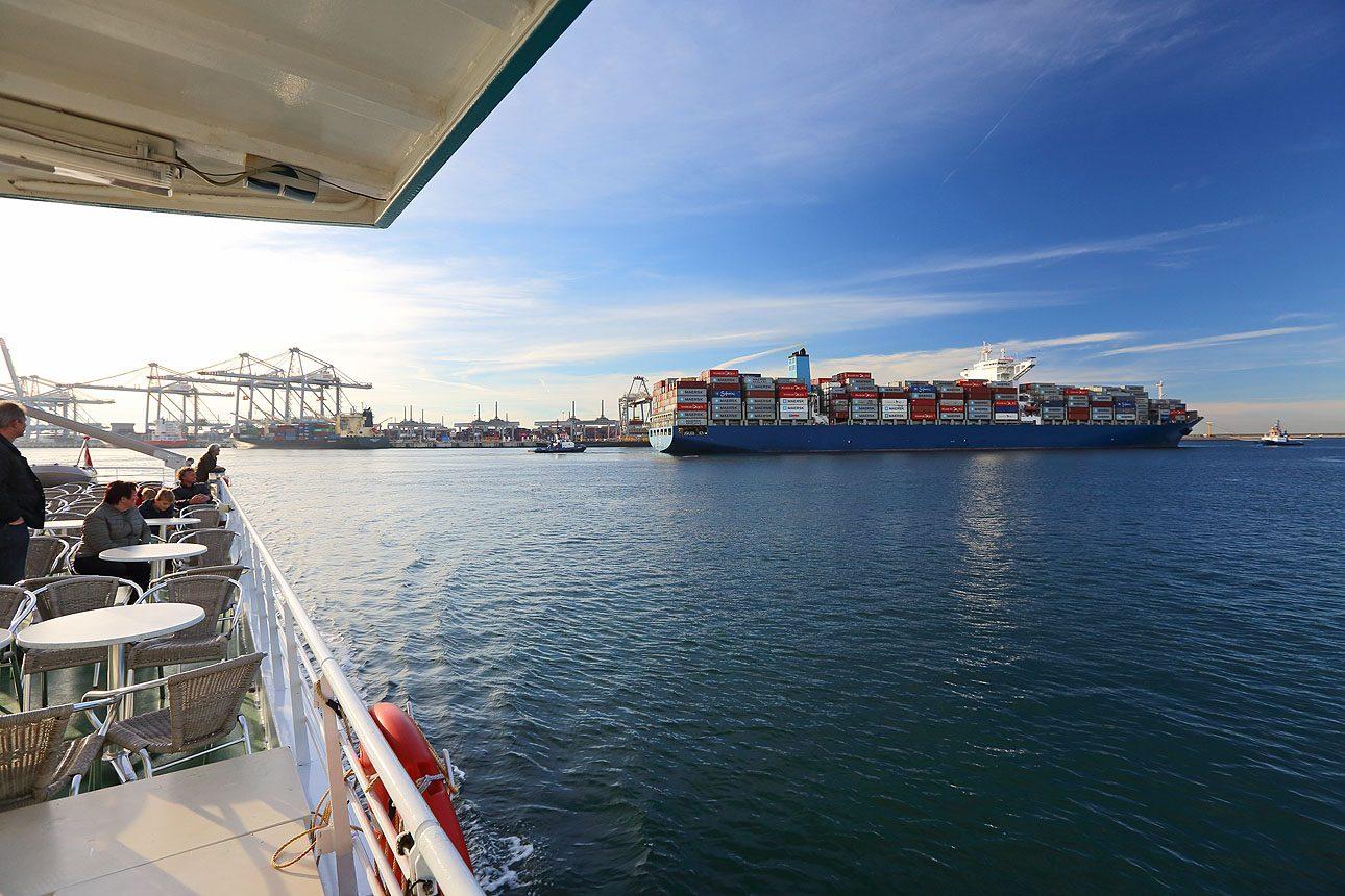 Fotografie van de haven Rotterdam, Maasvlakte foto's