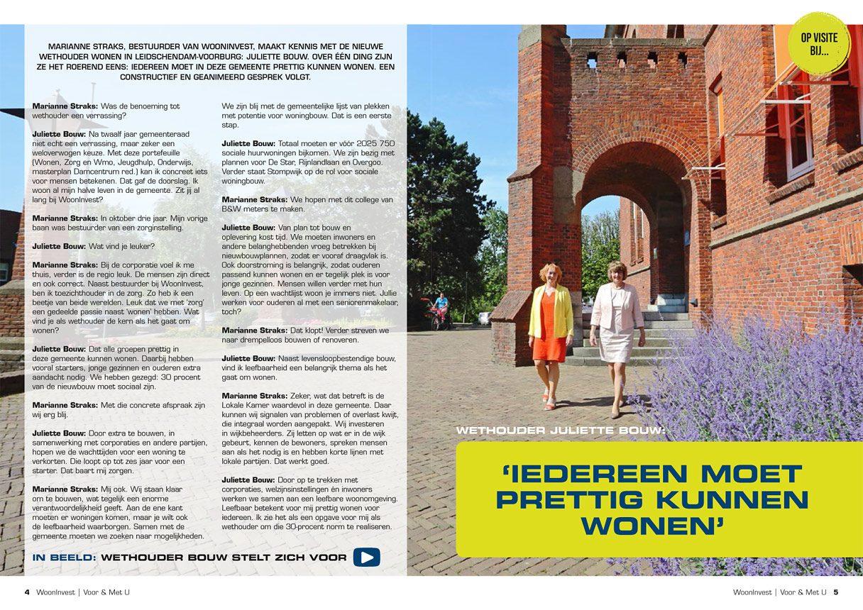 foto woningcorporatie magazine