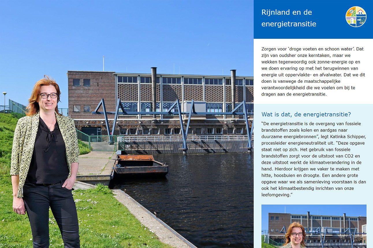 fotografie voor waterschap magazine