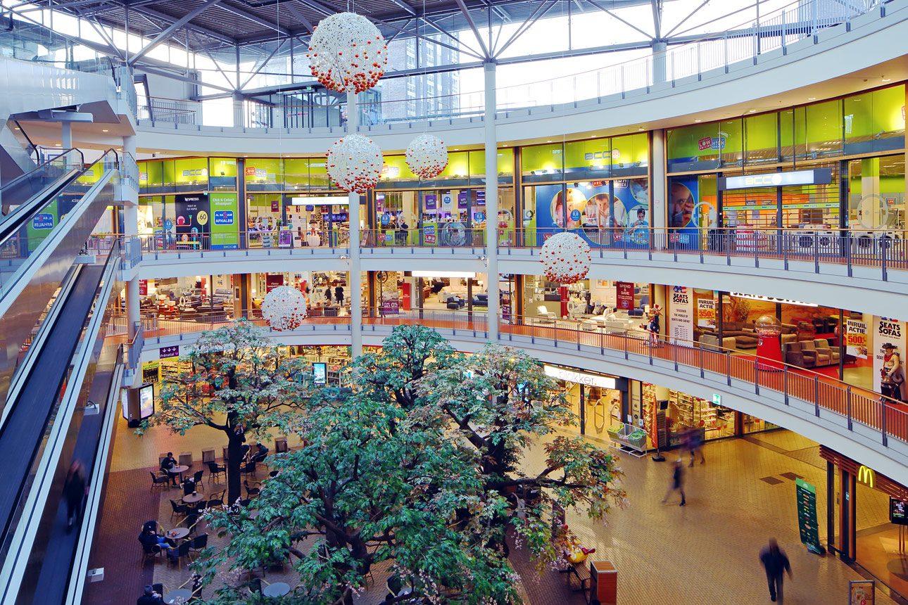 fotograaf voor interieur fotos winkelcentrum