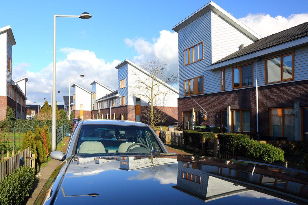 nieuwbouwwijk fotografie tbv woningcorportie