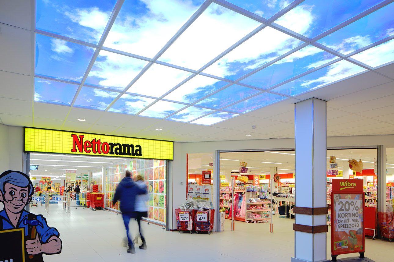 fotografie interieur winkelcentrum