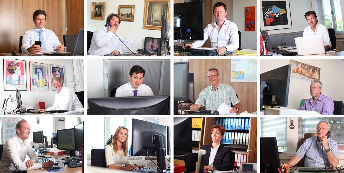 portretfotografie op kantoor