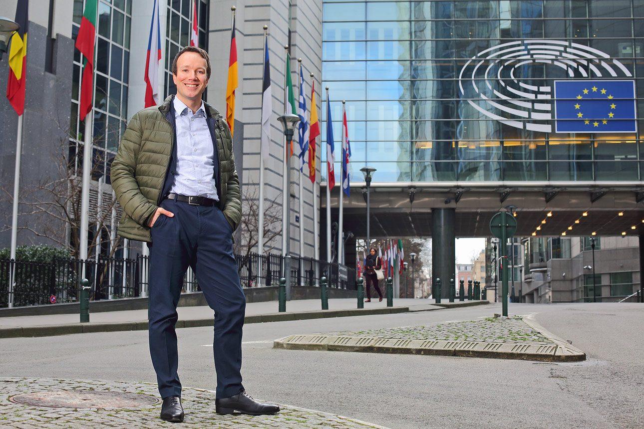 Portretfotografie van portretfotograaf te Den Haag, geschoten in Brussel