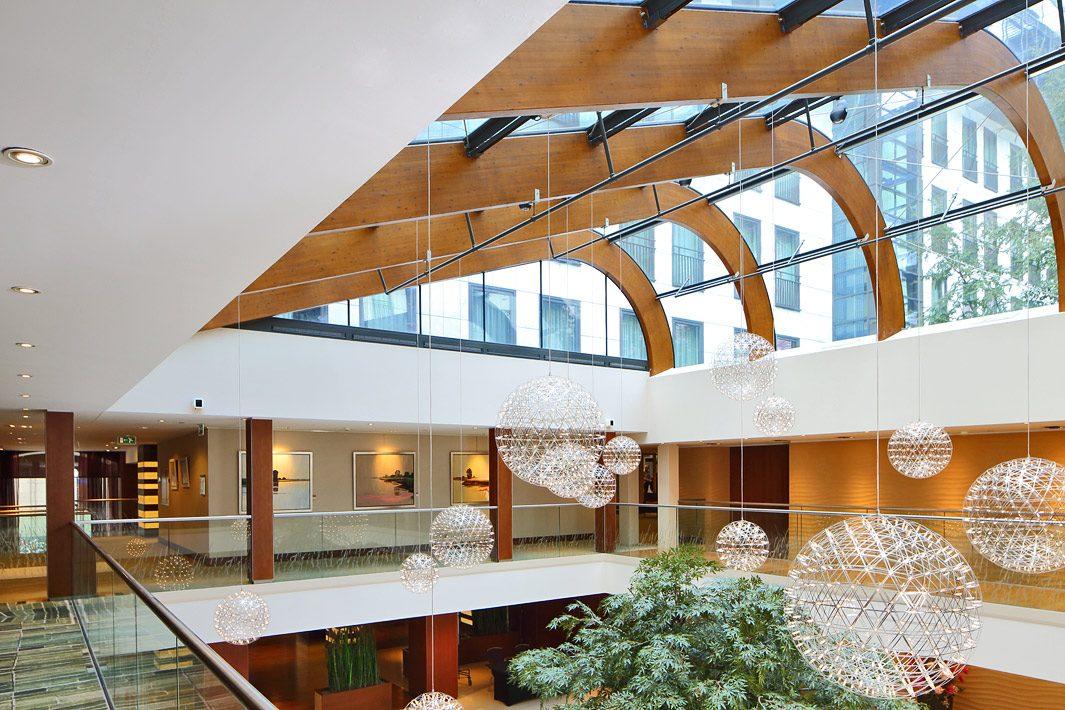 Interieur hotel Hilton Den Haag