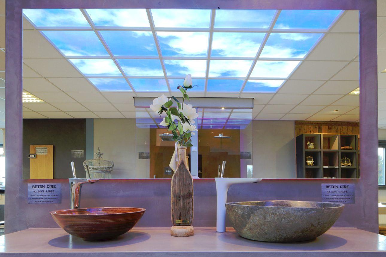 interieur showroom fotografie