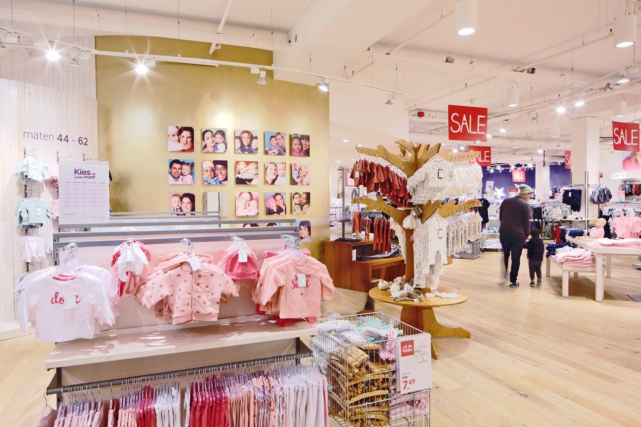interieurfoto van een winkel in Den Haag