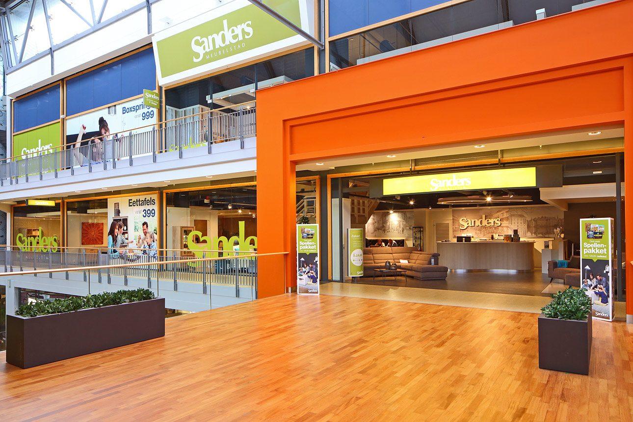 interieurfoto winkelcentrum Den Haag