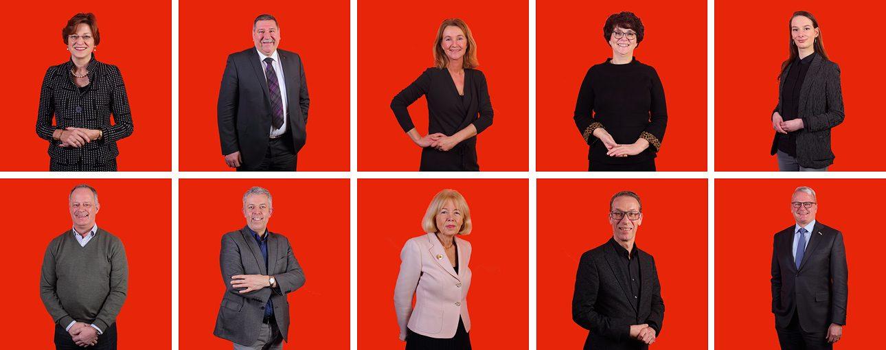 LinkedIn profiel foto's. Portretten voor de zakelijke website