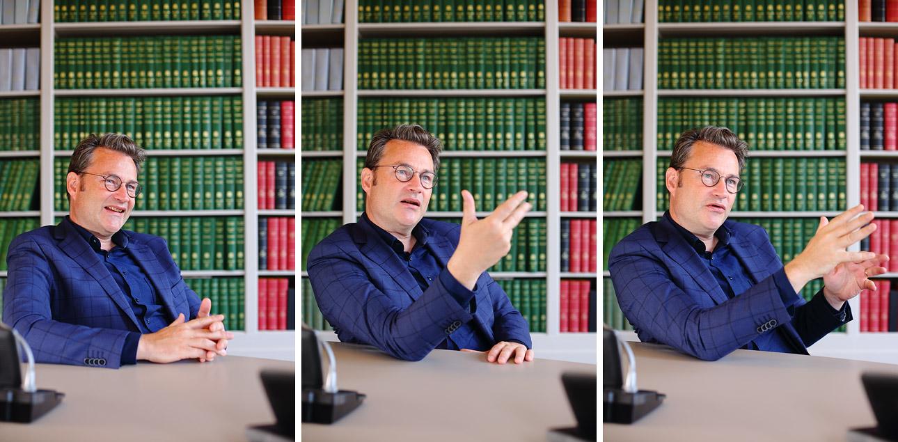 Portretfotografie van Tweede Kamerlid Den Haag, politiek fotograaf