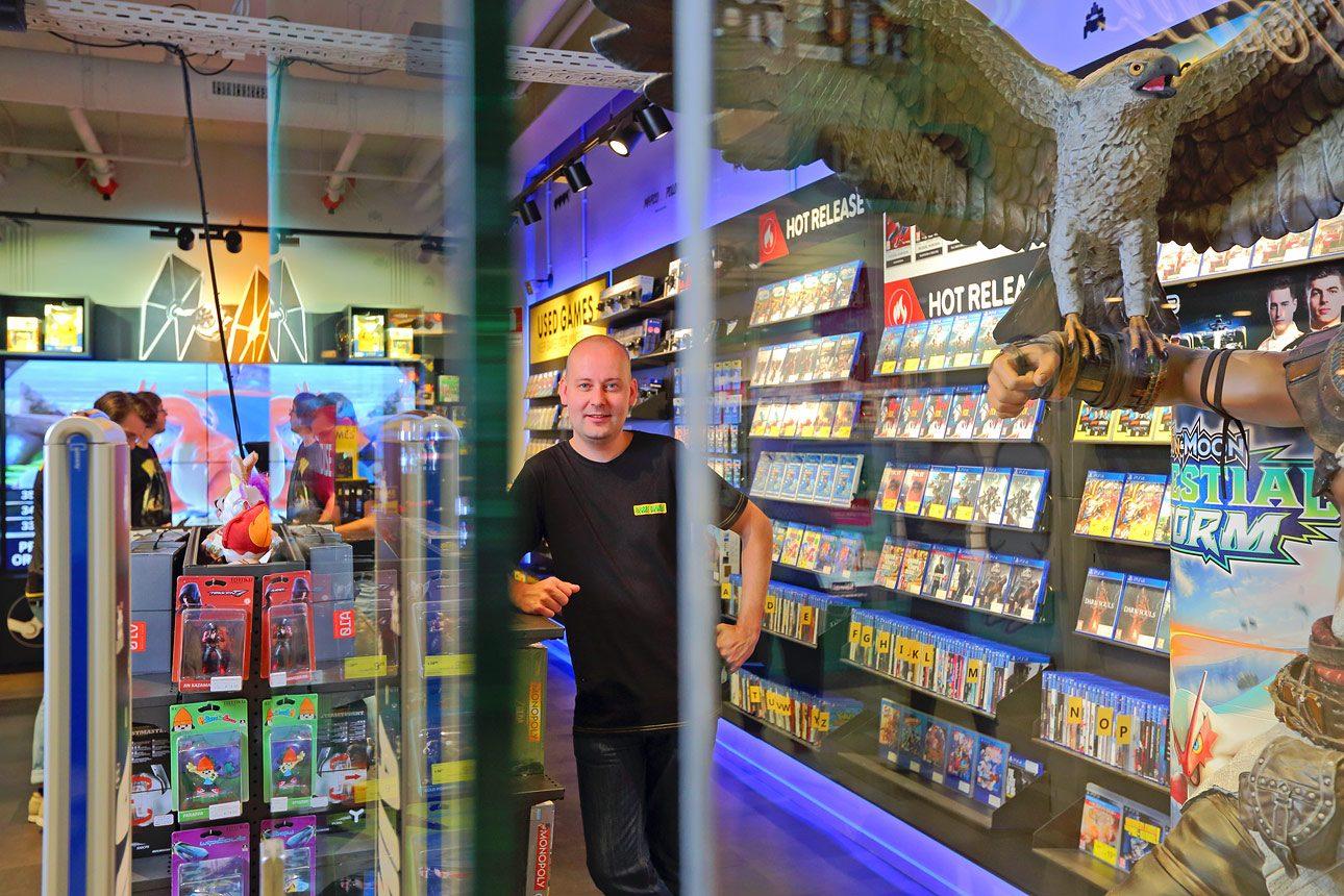 Klantverhaal fotografie voor G4S bij winkel ondernemer