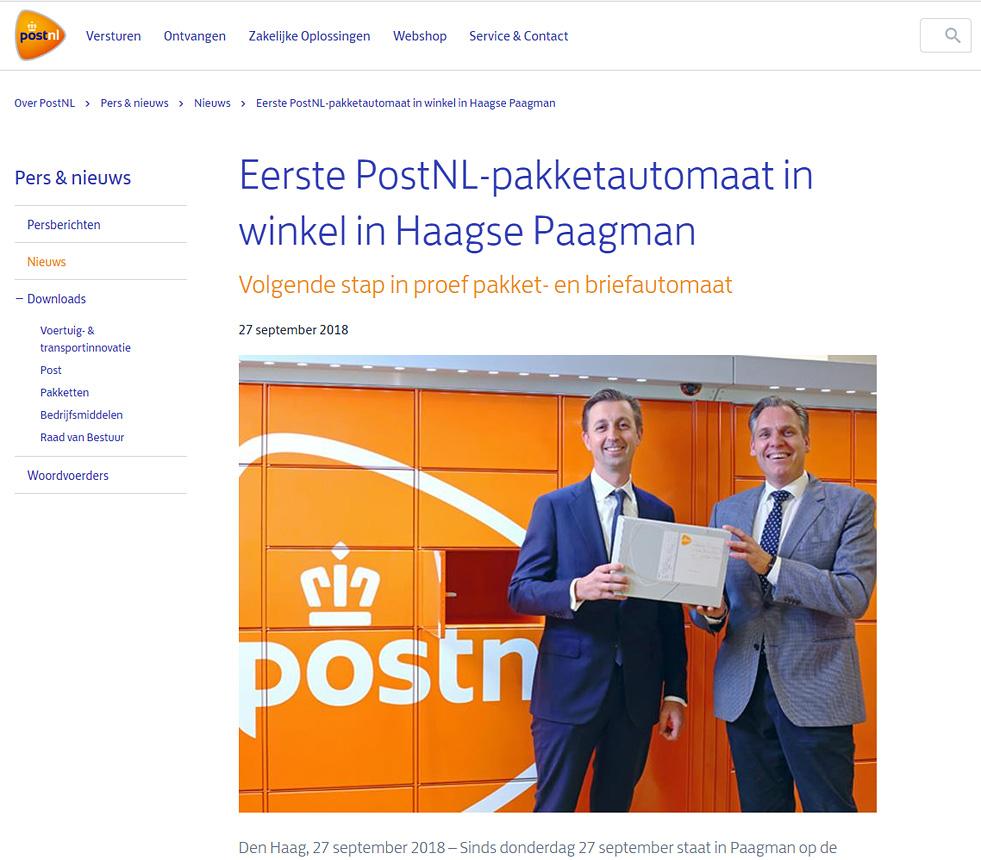 reclame campagne fotografie Den Haag PostNL