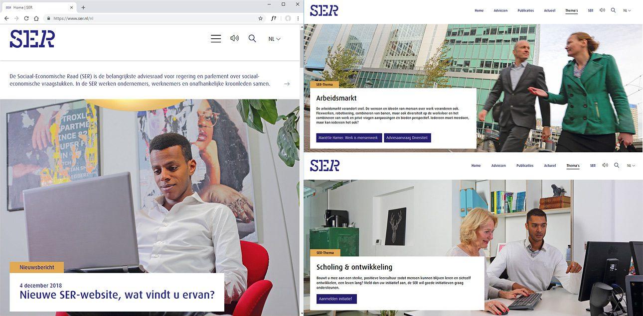 Bedrijfsreportage fotos voor bedrijfswebsite