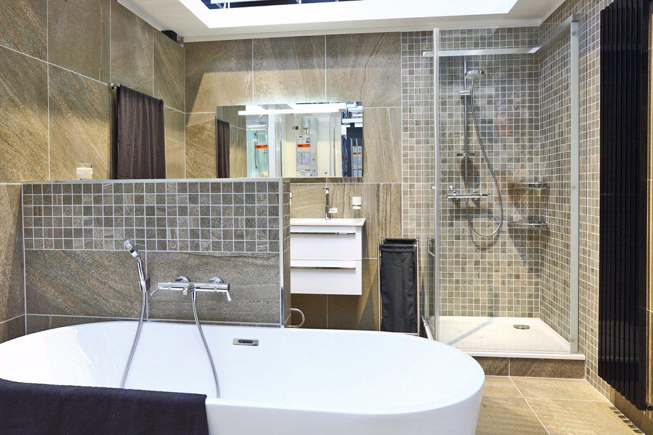 showroom badkamer Fotografie