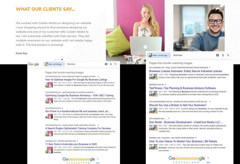 klantverhaal Stockfotos voor marketing