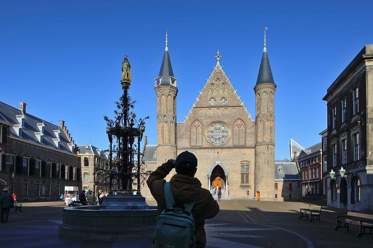 Fotograaf in Den Haag, foto van het Binnenhof, Den Haag