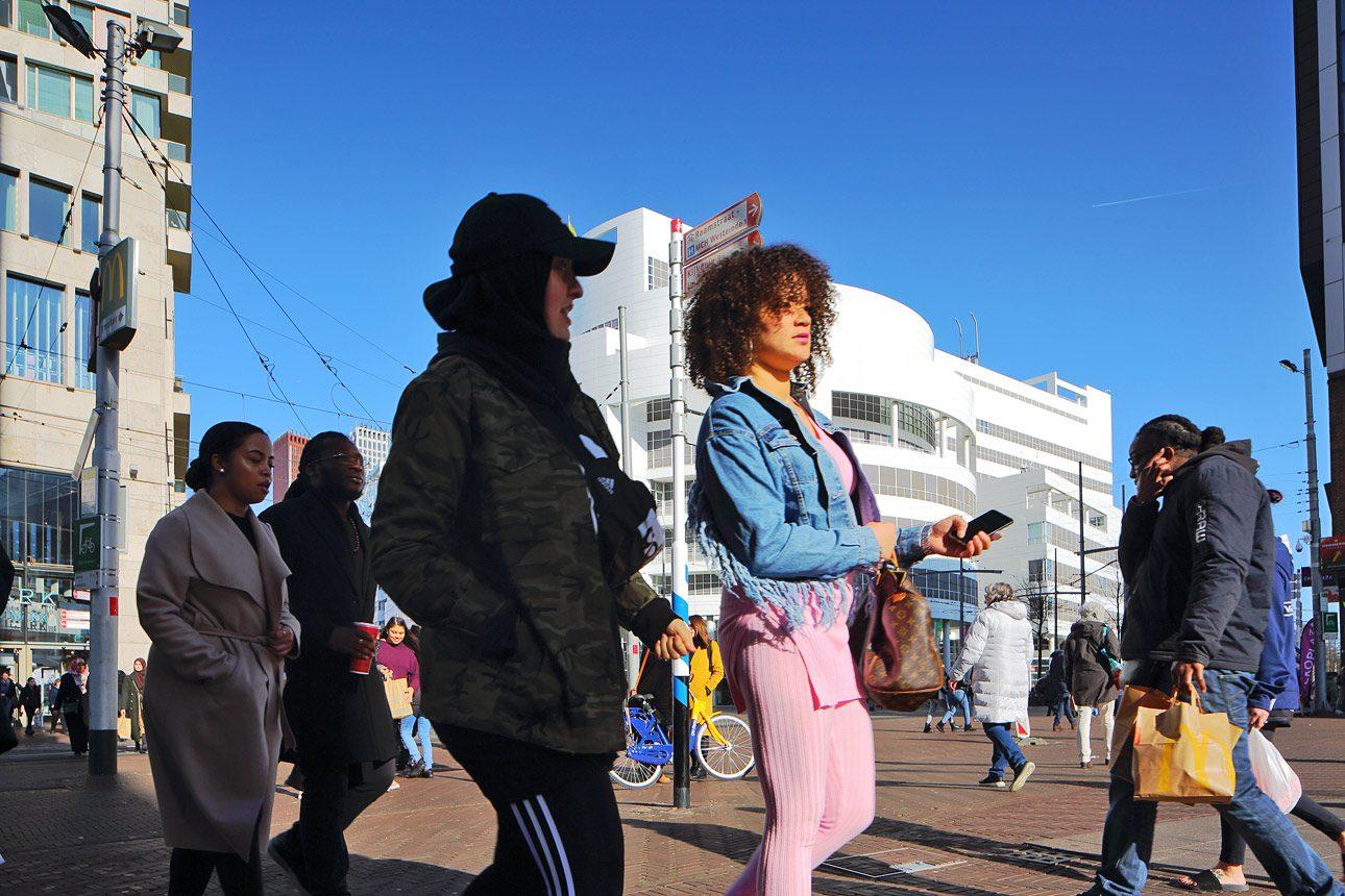 straatfotografie van fotograaf in het centrum van Den Haag