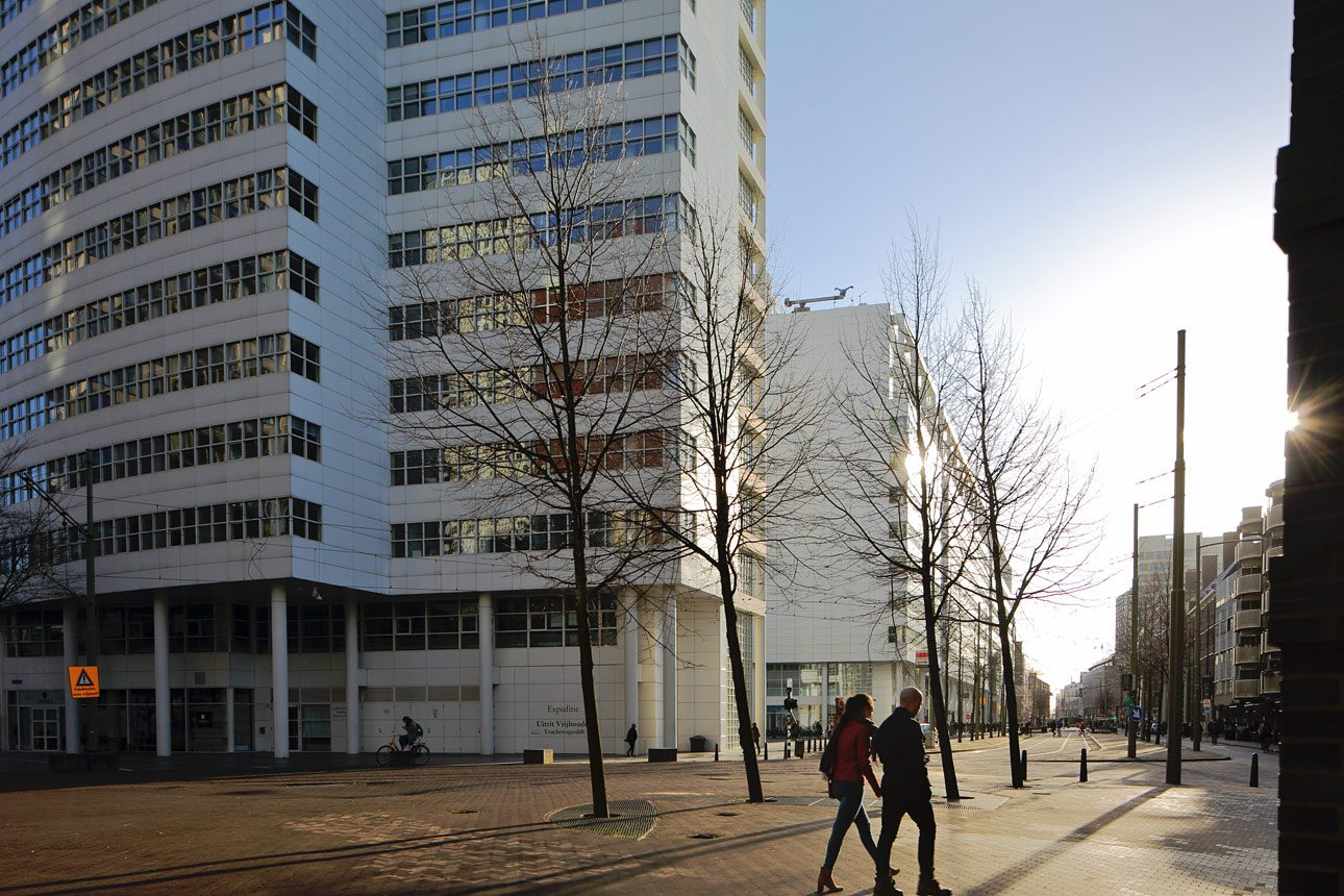 Den Haag straatfotografie van fotograaf Wilmar