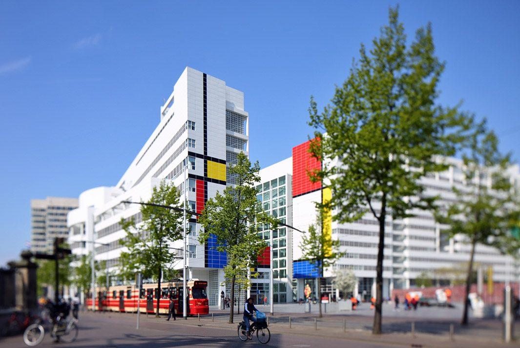 Straatfotografie Den Haag, tilt shift lens