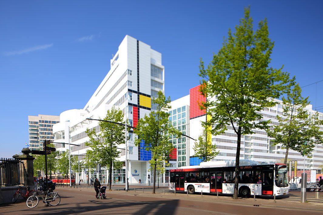 bus transport fotografie Den Haag