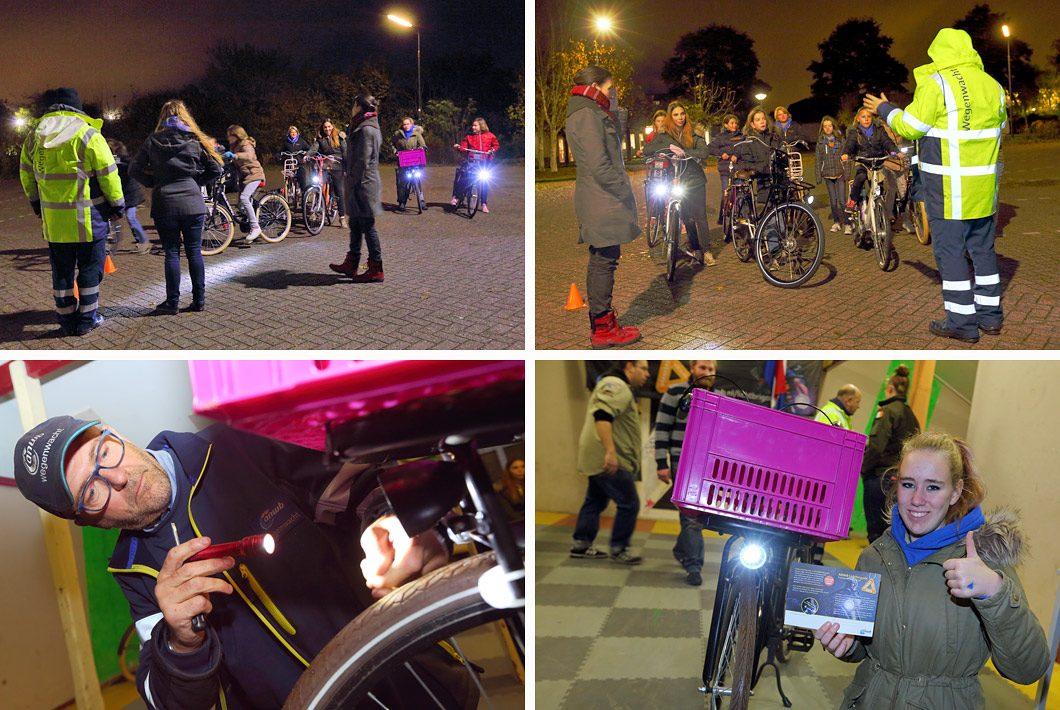 transport fotografie ANWB lichtbrigade actie