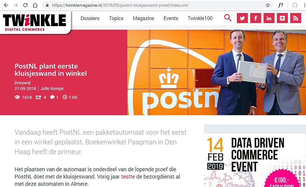Twinkle magazine, digital commerce vakblad. Fotografie voor Vakbladen
