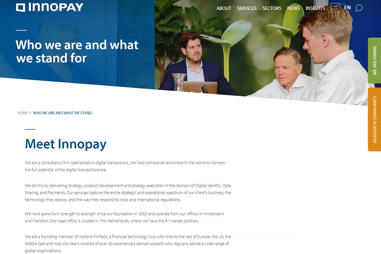 website voorbeelden fotografie