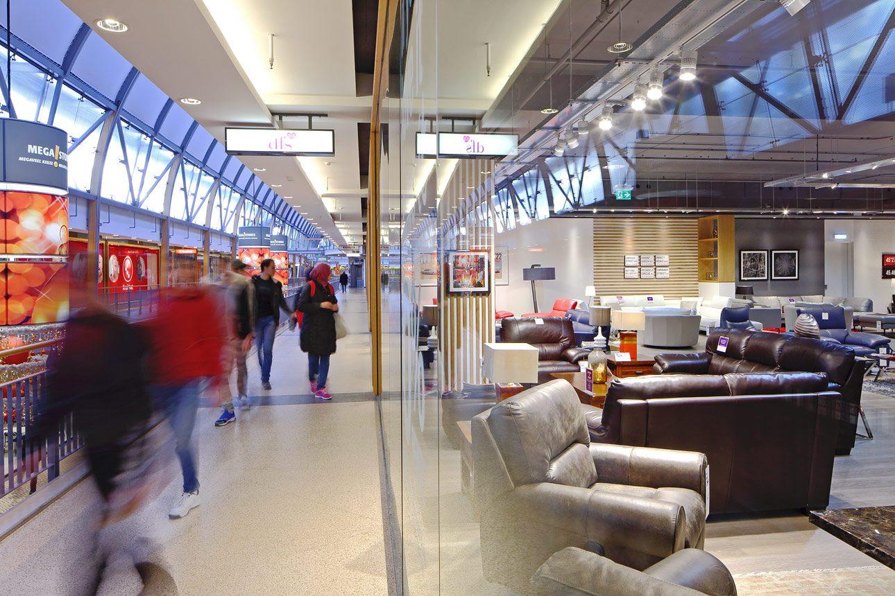 winkelcentrum interieurfoto