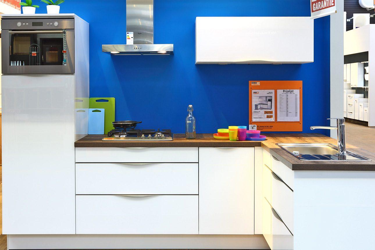 keukenshowroom in winkel fotografie