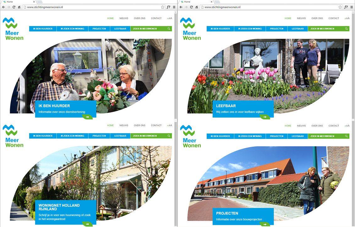 Fotografie voor website woningcorporatie