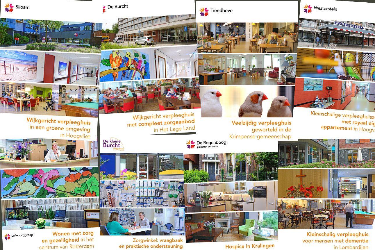 brochures voor zorginstelling, fotografie in verpleeghuis